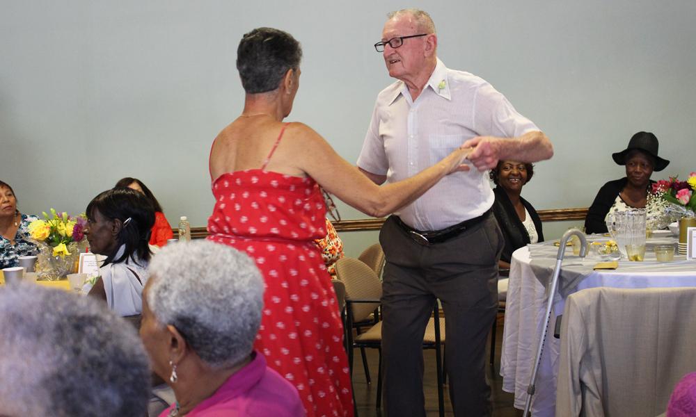 'Senior Prom' Held for Senior Citizens
