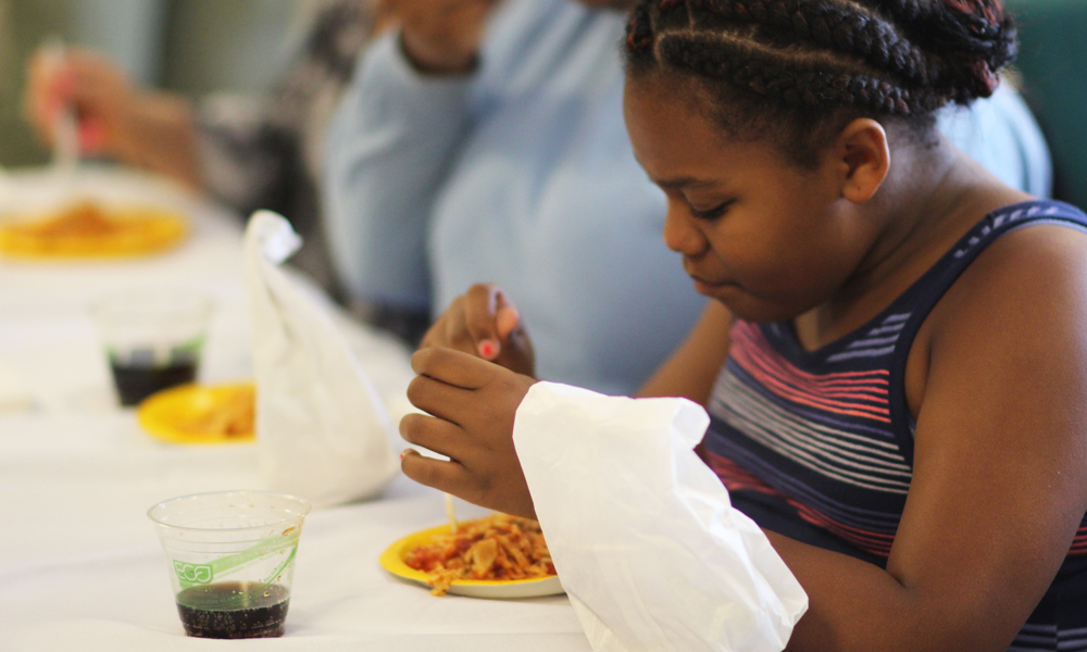 Stamford Community Gathers to Celebrate Summer Meals Program