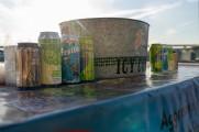 Zesty Bestie beer cans