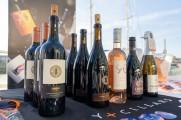 Ninety Cellars wine on a table