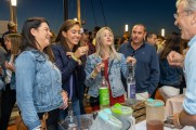 A group of women having a good time with 5th state distillery