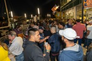 A large crowd at the Stamford Brew and Whiskey Festival