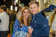 A couple at the Stamford Brew and Whiskey Festival