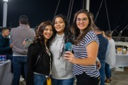 Women at the stamford brew and whiskey festival