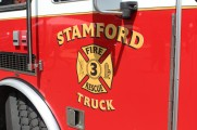 Stamford Fire Truck at 2016 Health Fair