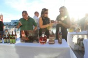 Women Pouring Whiskey At The 2016 Jazz On The Rocks