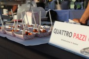 Quattro Pazzi Food Displayed At The 2016 Jazz On The Rocks
