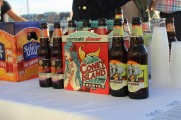 Cony Island Brewing Co Beer Bottles Displayed At The 2016 Jazz on The Rocks