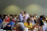 Men and Women Enjoying The Senior Prom Luncheon 2016