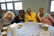 Group of Women Smiling For Camera at Senior Prom Luncheon 2016