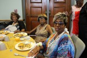 Women Pose For Camera at Senior Prom Luncheon 2016