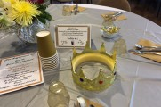 Table Centerpieces and Flowers at Senior Prom Luncheon 2016