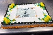 Cake from 2016 Senior Prom Luncheon