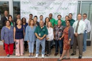 new neighborhoods group photo at stamford brew and whiskey festival 2018