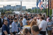 patrons and vendors at the stamford brew and whiskey festival 2018