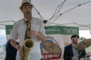 man performs at stamford brew and whiskey festival 2018