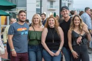 men and women group photo stamford brew and whiskey festival 2018