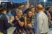 Patrons order drinks at 2018 stamford brew and whiskey festival