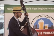 Man Performs At The Stamford Brew and Whiskey Festival 2017