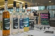 Asylum Whiskey Bottle Display At Stamford Brew and Whiskey Festival 2017