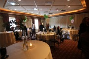 Tables at the Waters Edge Staff Event