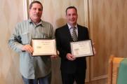Waters Edge Staff Event Award Winners Smiling