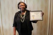 Waters Edge Staff Event Award Winner