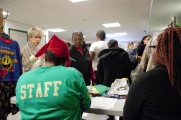 Staff Assisting Community With The 2016 Winter Warmup