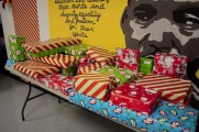 Christmas Presents Wrapped And Displayed at The 2016 Winter Warmup