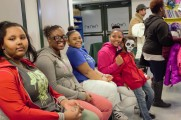 Children and Young Adults Smiling For The Camera At The 2016 Winter Warmup