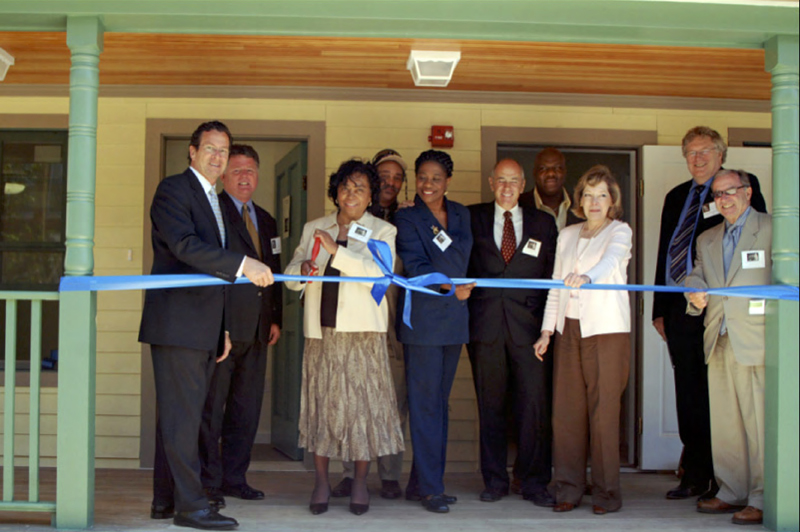 Madison Smith Apartments ribbon cutting