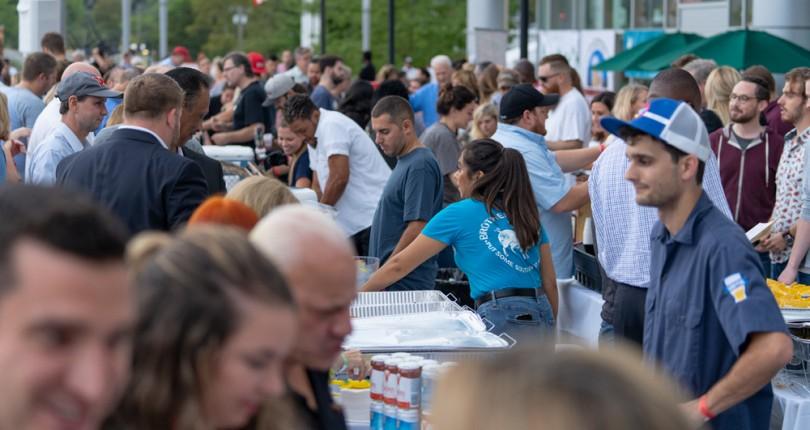 2nd Annual Stamford Brew & Whiskey Festival Draws A Crowd