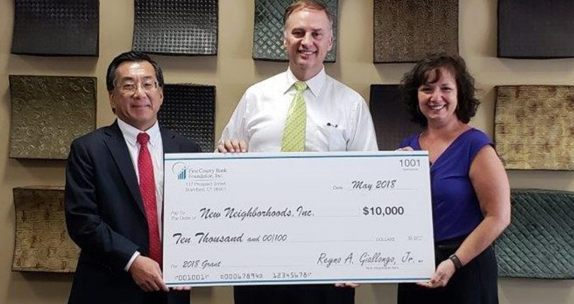 New Neighborhoods receives $10,000 grant